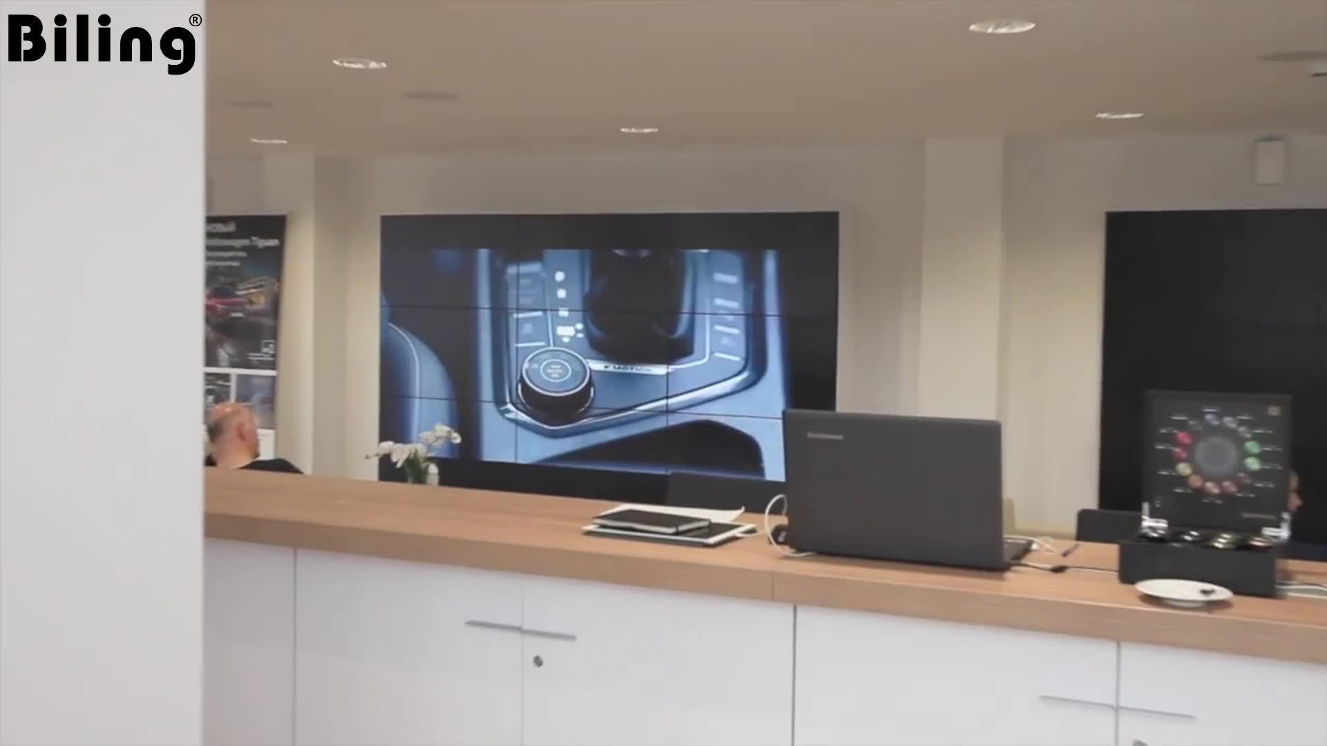46인치 비디오 월 컨트롤러 LED 비디오 월 패널(홍보용 임대 이벤트 HD 비디오 대형 대형 광고 LED TV 월