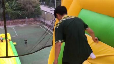 子供のための水スライド膨張可能なプールのスライド