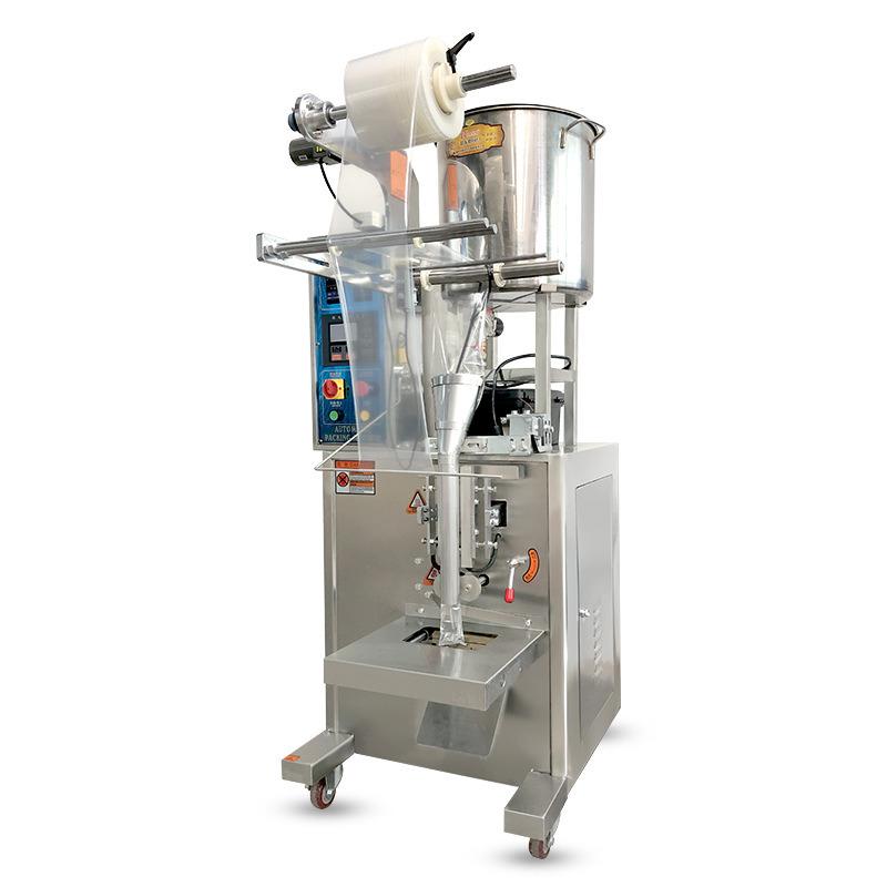 Remplir la machine de remplissage automatique des aliments de l'emballage de l'huile de jus de Lait Jus de détergent liquide désinfectant de shampoing de blanchiment de l'emballage de la machine de pondération