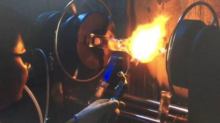 Ferro uomo super Heros Phoenix Beaker base ghiaccio Catcher tabacco Fumatore vetro tubo acqua