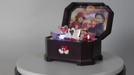 O OEM Loja estilo europeu amante de música personalizados Dom operado a bateria caixa de Música para venda