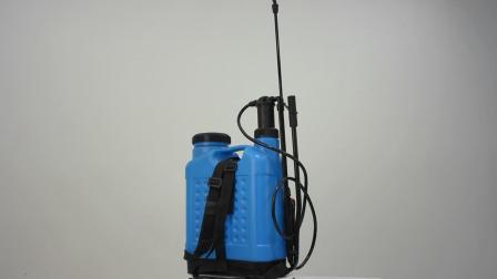 20L mochila/Mochila Pressão Manual do cilindro plástico Pulverizador (SX-LC20V-A)