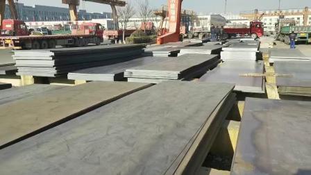 Warmgewalzte Stahllegierung Milde Materialien Gebeizt Geölt Blech Platte SAE A36/Saph/SS400 Carbon Blackface Steel Coils 610L für Autoteile Und Baumaterialien