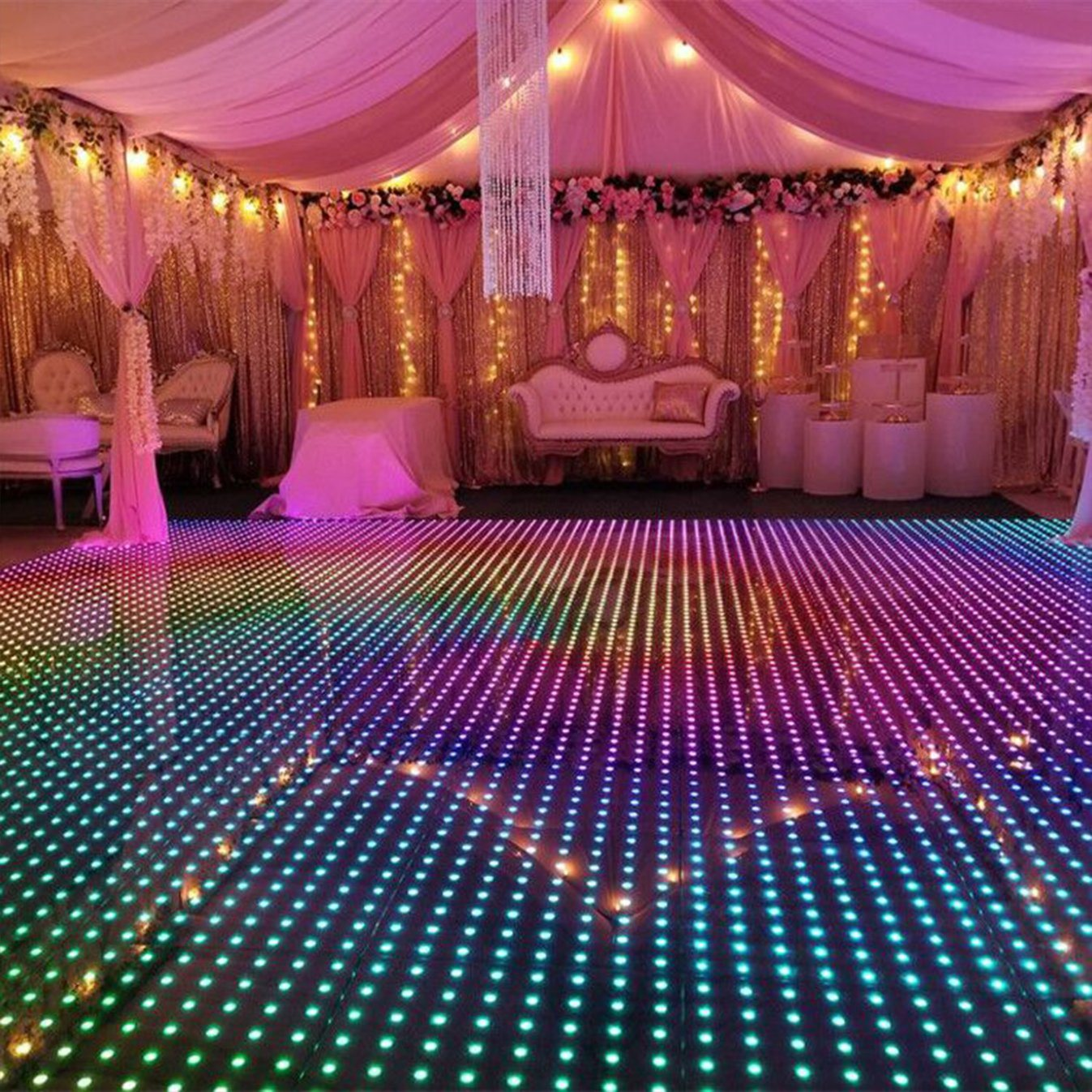 DJ マグネットフルセクシービデオ LED フロアタイル用プラットフォーム 販売