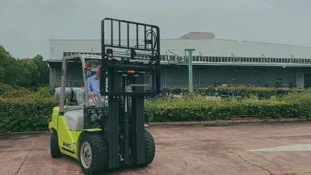LPG フォークリフト 3 トンフォークリフターガソリンリフティングトラック