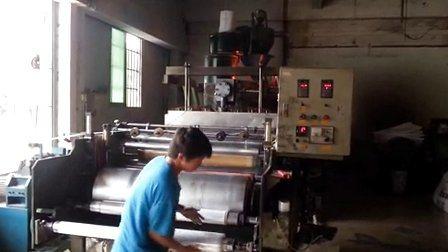 PET Maschinen-Handladeplatten-Ausdehnung China-haften Plastik-LLDPE/an, Film-Verpackungs-Rolle für Produkt-Schutz einwickelnd