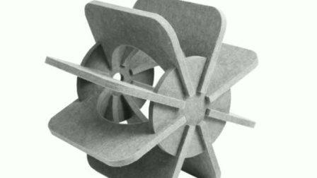 China Lieferanten Antike Akustische Beleuchtung Schattierungen Großhandel Benutzerdefinierte Blumenform Blauer Korb LED-Lampenabdeckung für Coffee Shop