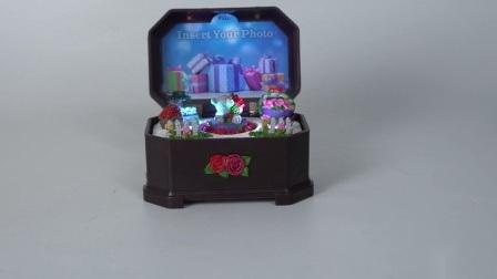De Hars van Promo van Gifting draagt de Muziekdoos van Kerstmis van de Batterij van het Cijfer voor Minnaar