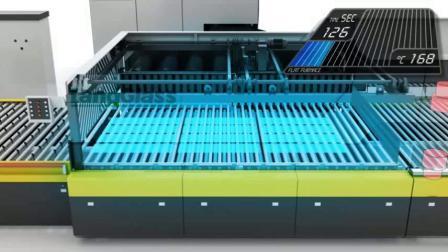 Электрическая печь для закалки стекла Landglass теплового режима