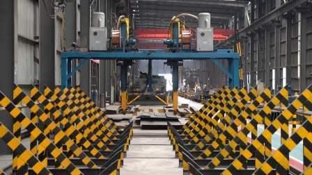 La Chine des matériaux de construction préfabriqués Structure légère en acier pour l'entrepôt modulaire/atelier/Étable/house/H de poulet de la construction de faisceau