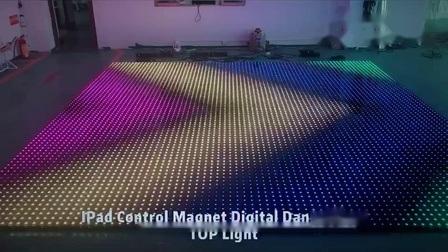 ピクセル LED コントローラ DMX Piso マトリックス LED ダンスフロアを表示 ステージ