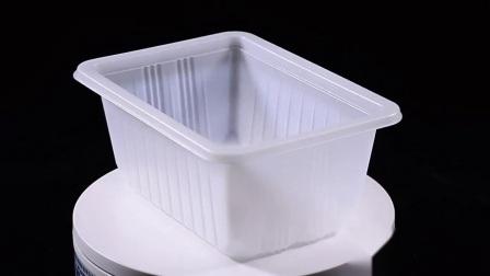1812 Customized Clear Einweg-Kunststoff Food Tray
