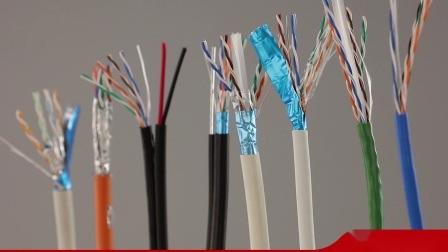 UTP CAT6 Internet-Kabel mit Energien-Draht IP-Kamera-Kabel CCTV-Kabel