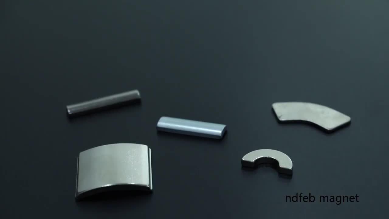 Strong высокое качество NdFeB Arc магнита