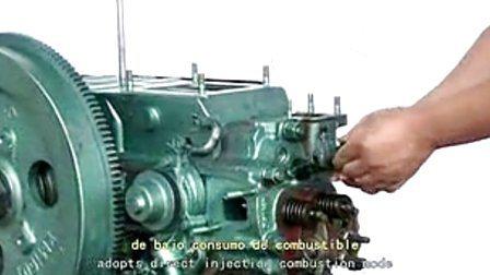 트랙터용 래동형 다중 실린더 디젤 엔진(30HP-55HP)(4L22BT)
