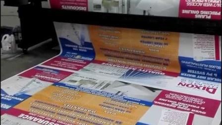 Stampa di plastica di Digitahi della maglia della bandiera della maglia del PVC (500X1000 18X12 270g)