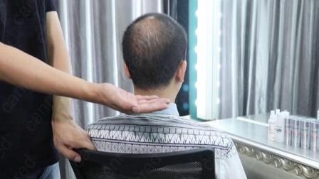 毛損失のConcealerの粉の人間の毛髪のかつらのためのケラチンのMrcioのファイバー
