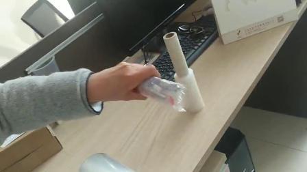 Manomètre de 5 pouces de Transparent 80 Mini Shrink wrap film avec le distributeur