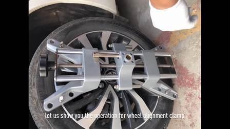 Alineación de ruedas del vehículo camión Adaptador Alineador Localizador Adaptador pinza Clip Wa011