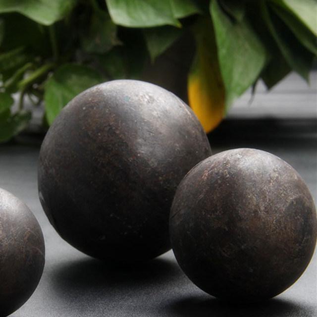 Onbreekbare, stevige, gesmede stalen kogels voor goudmijn dia 110 mm