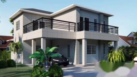 Estrutura de aço modular acessível Eco-Friendly Villa House
