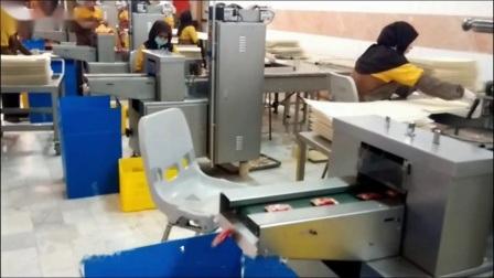 Oreiller de cycle de liage automatique du débit d'un savon de toilette Sac Machine d'emballage