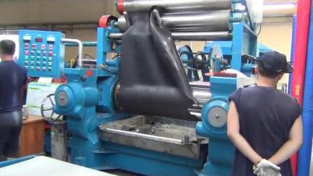 """ملاسة خلط مطاطية 22""""X60""""""""/ماكينة صناعة الورق المطاطية بملقطتين"""
