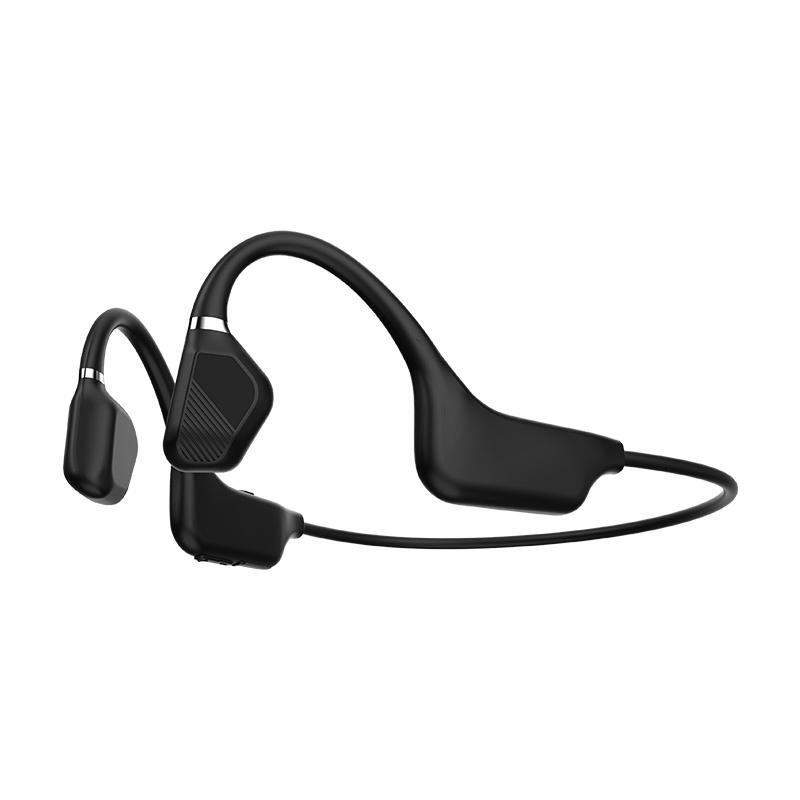 Sports étanche IPX5 5.1 sans fil Bluetooth à conduction osseuse Ecouteur casque