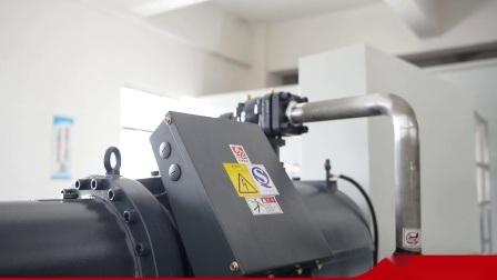 Unité de refroidissement Bitzer IRM Refroidissement du compresseur haute efficacité vis unique moulin à farine basse température pompe à chaleur Source Glycol placage de cuivre acide Chiller industrielle
