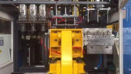 PP HDPE automático de la botella de plástico de PVC por extrusión moldeo por soplado moldeo por soplado que hace la máquina