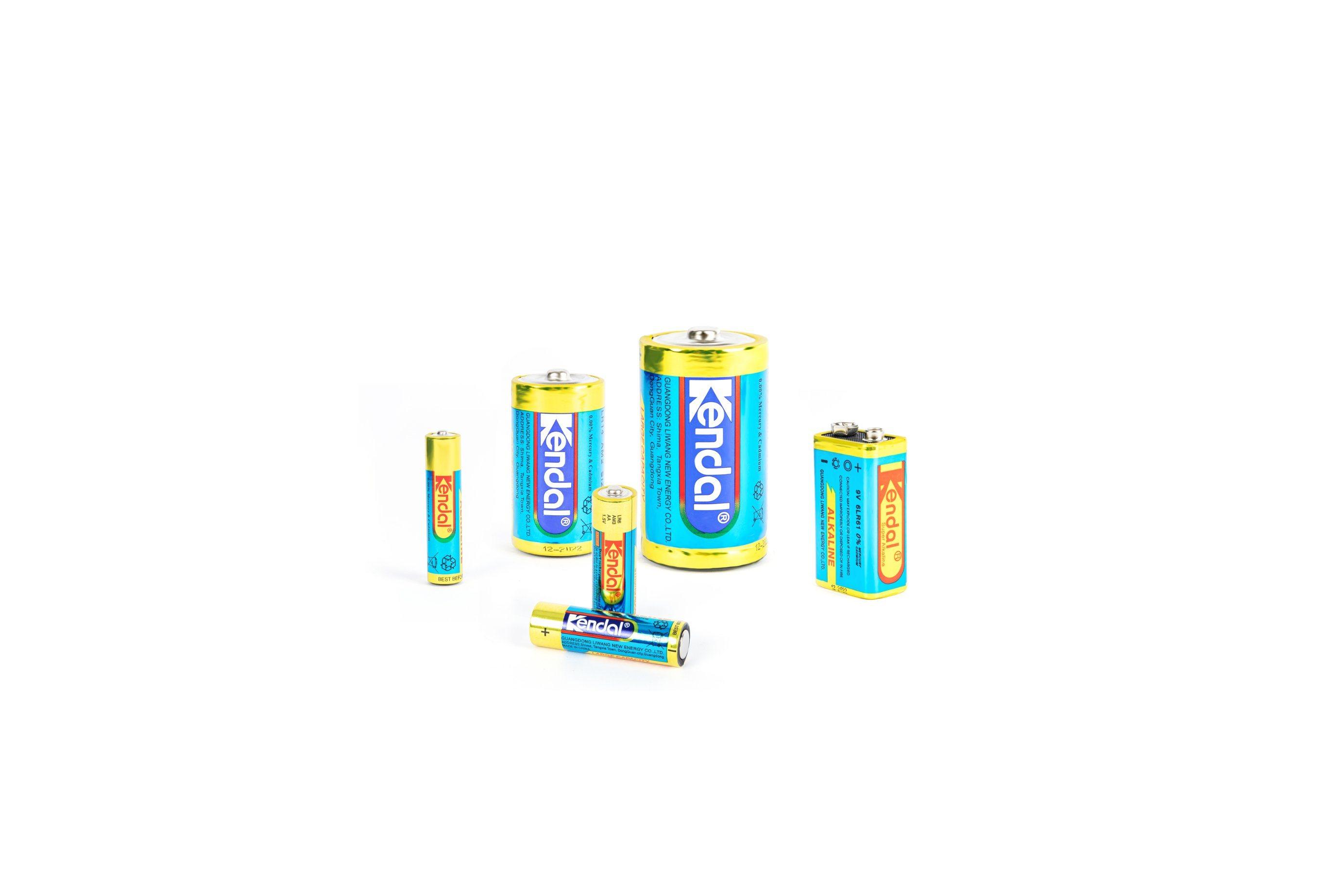 공장은 직접 소매를 위한 매우 알칼리성 Lr03 AAA 1.5V 1 차적인 건전지 건전지를 공급한다