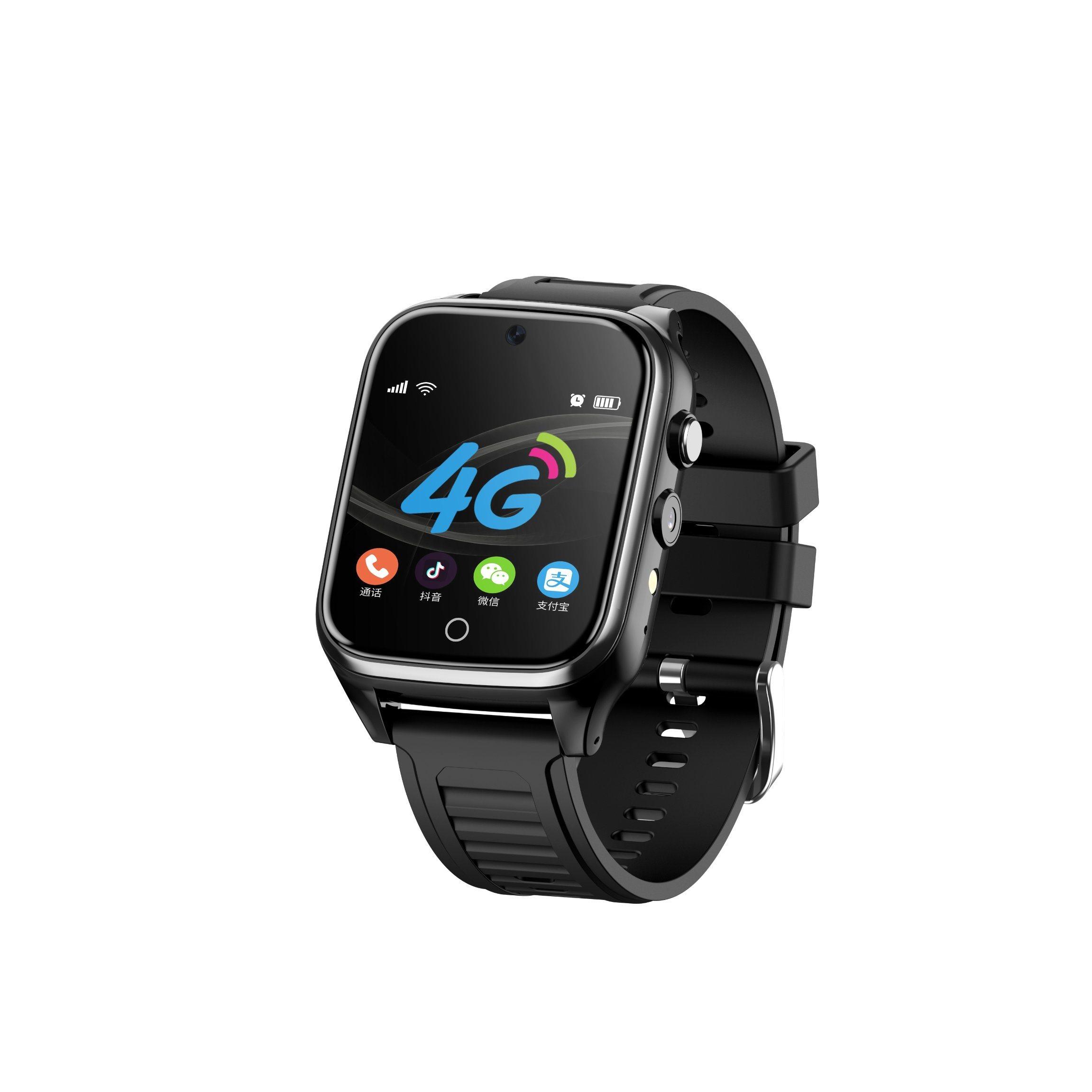 Venda por grosso de vigilância móvel Smartwatch Smartwatch telemóveis 4G ranhura de cartão SIM/WiFi/Câmara Dupla // Android GPS/Bluetooth Smart Phone Adulto Relógios para crianças