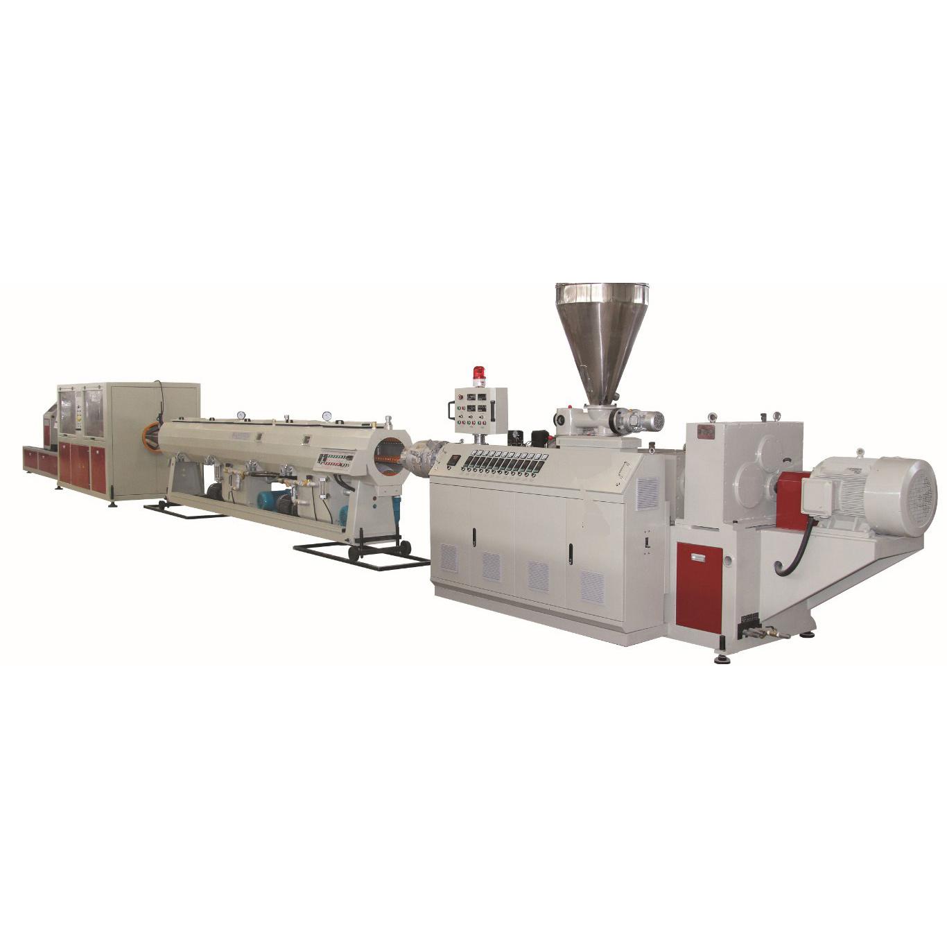 PET-HDPE pp. PPR China-Plastik-Belüftung-UPVC CPVC Wasser-Gasversorgung-Entwässerung-Verteilungs-Abwasser-elektrisches Rohr-Rohr-Schlauch-Gefäß-Strangpresßling-Produktion, die Maschine herstellt