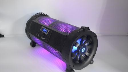 Barzookar Super Woofer haut-parleur portable alimenté par batterie rechargeable