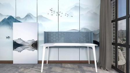3D Büro Gravieren Polyester Faser Decke Pet Wall Akustikpanel Angezeigt