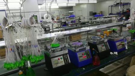 Мини-стальной трубы 250 мкм 1X2 1X4 Оптоволоконный PLC разветвителя