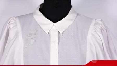 Sommer-kundenspezifische lose bequeme Qualitäts-Form-beiläufige neue Plaid-Chiffon- kurze Hülsen-rundes Stutzen-T-Shirt der Frauen