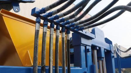 La construction du béton de ciment4-15 Qt automatique machine à fabriquer des blocs de brique creuse