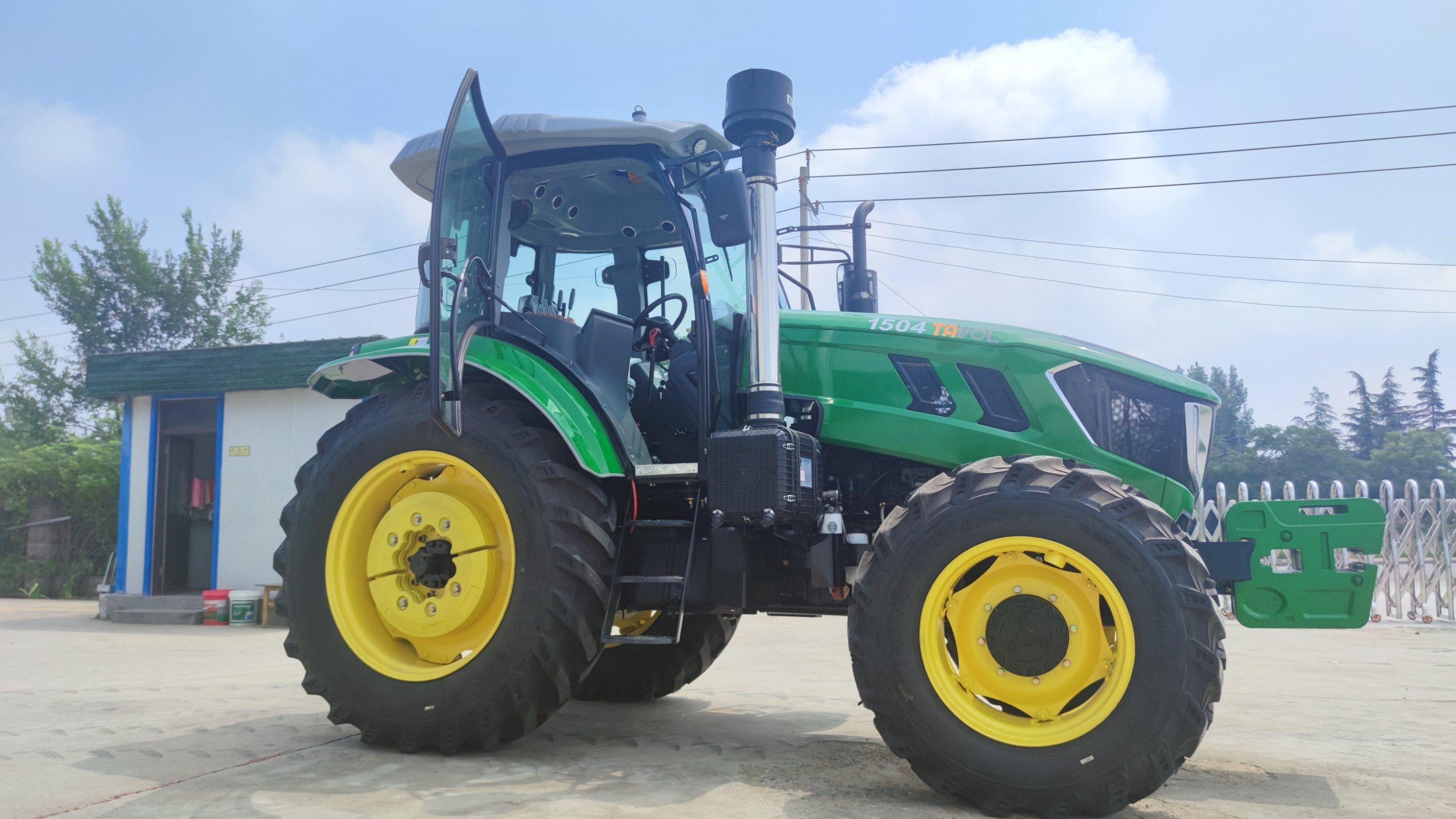 ヘビーデューティ大型農業用トラクタ 150hp ホイールトラクタ