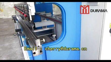 CNC de Hydraulische Machine van de Rem van de Pers met de Controle van Estun E200p