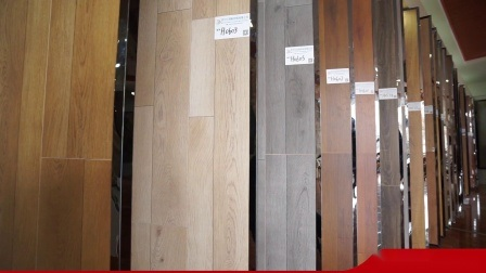 HDF 쉬운 설치 OEM 라미네이트 목재 그레인 바닥 제조업체 설계 8.3mm 12.3mm 라미네이트 플로어의 경우