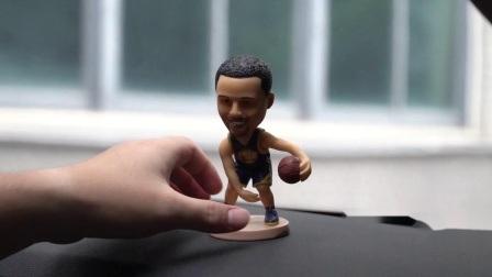 Hoofd van Bobble van het Dashboard van de Auto van het Cijfer van de Actie van de Grootte NBA Baller Iverson van Polyresin het Kleine
