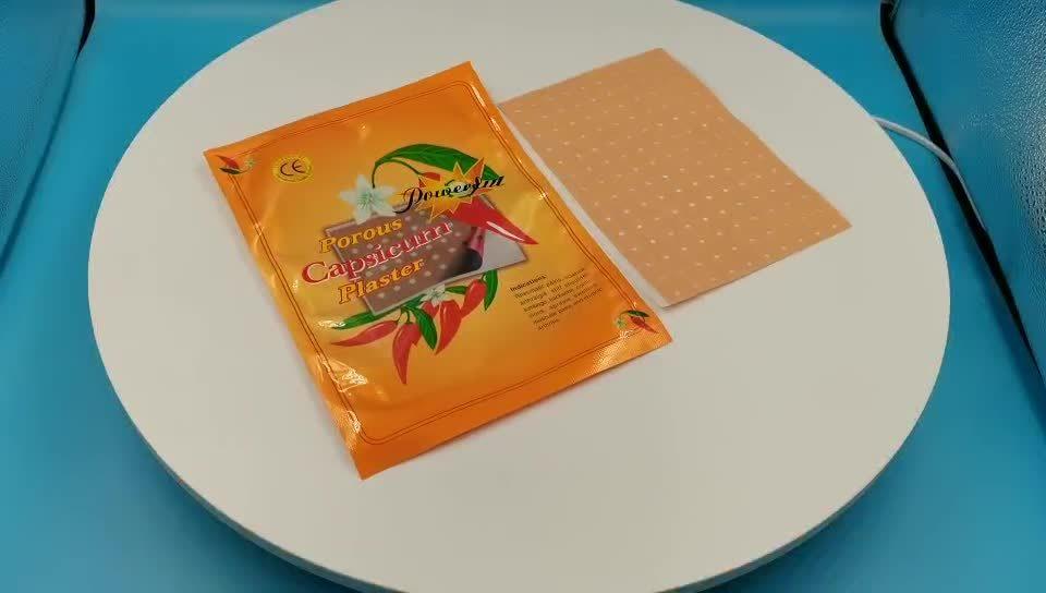 La medicina china Capsicum Escayola para aliviar el dolor