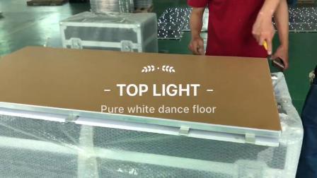 La Chine fournisseur blanc pur Portable plancher de danse pour Mariage