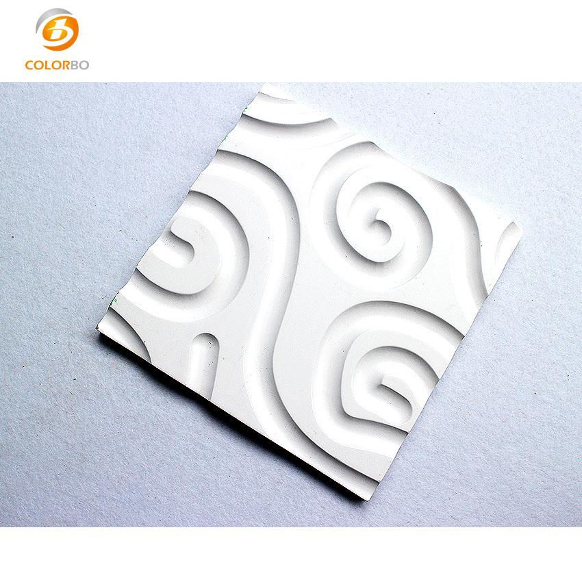 3D Dekorative Wave Wandpaneele für die Inneneinrichtung des Hotels Deoccration