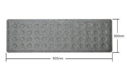 Büro Dekor Schallabsorption Polyester Fiber Schreibtisch Bildschirm Panel für Büro