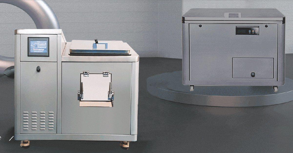 Lebensmittelabfall Einwegmaschine Lebensmittelabfall Recycling Maschine Lebensmittelabfall Kompostierung Maschine 100kg