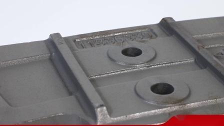OEM Hormigonera resistente al desgaste de las piezas de fundición de Metal Blade mezcla