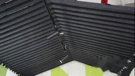 Umweltfreundliche Akustikpanel Schallabsorption Dekorative Decke