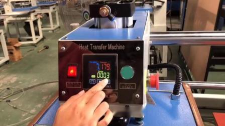 Controlador automático de la neumática 2 Camiseta De la estación de transferencia de calor de la máquina de prensa de vinilo